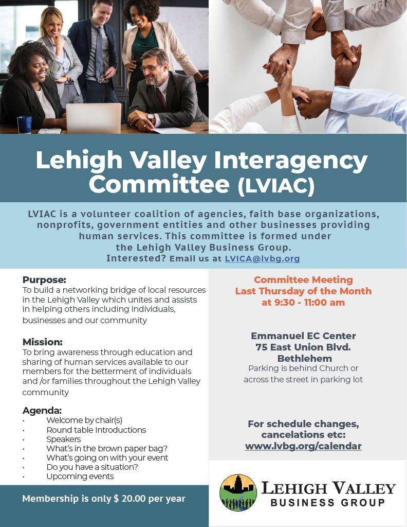 LVIAC General Meeting Flyer 20191024 1