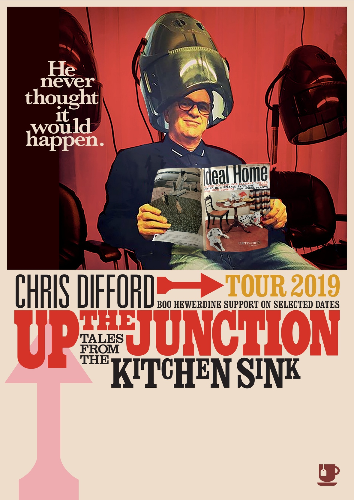 Chris Difford Up the Junction poster