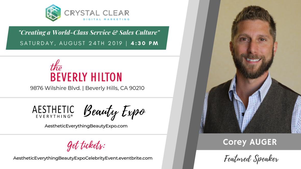 Corey Auger - Crystal Clear talk 1