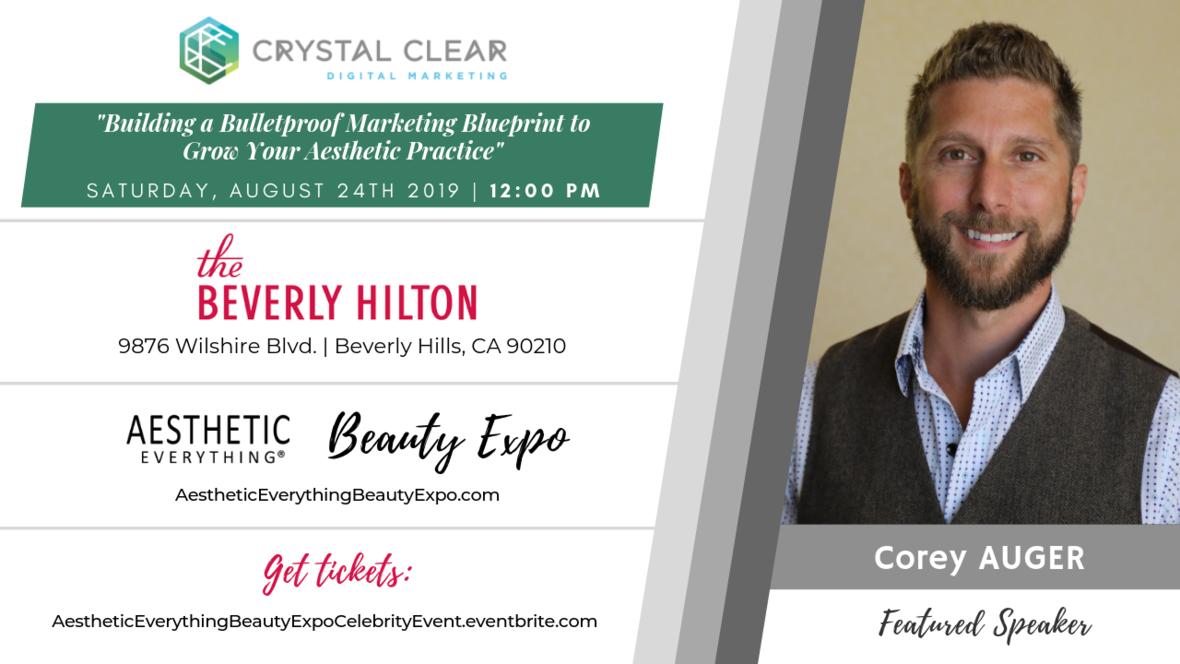 Corey Auger - Crystal Clear talk 2