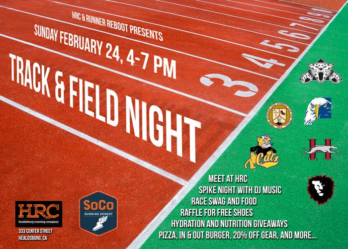 track field flyer