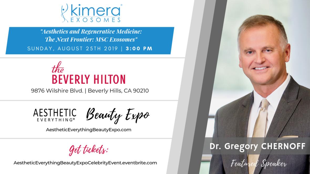 Gregory Chernoff - Kimera Exosomes speaker