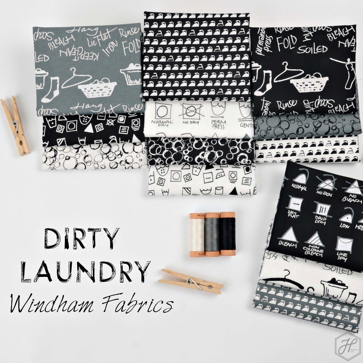 Dirty Laundry Fabric Windham at Hawthorne Supply Co