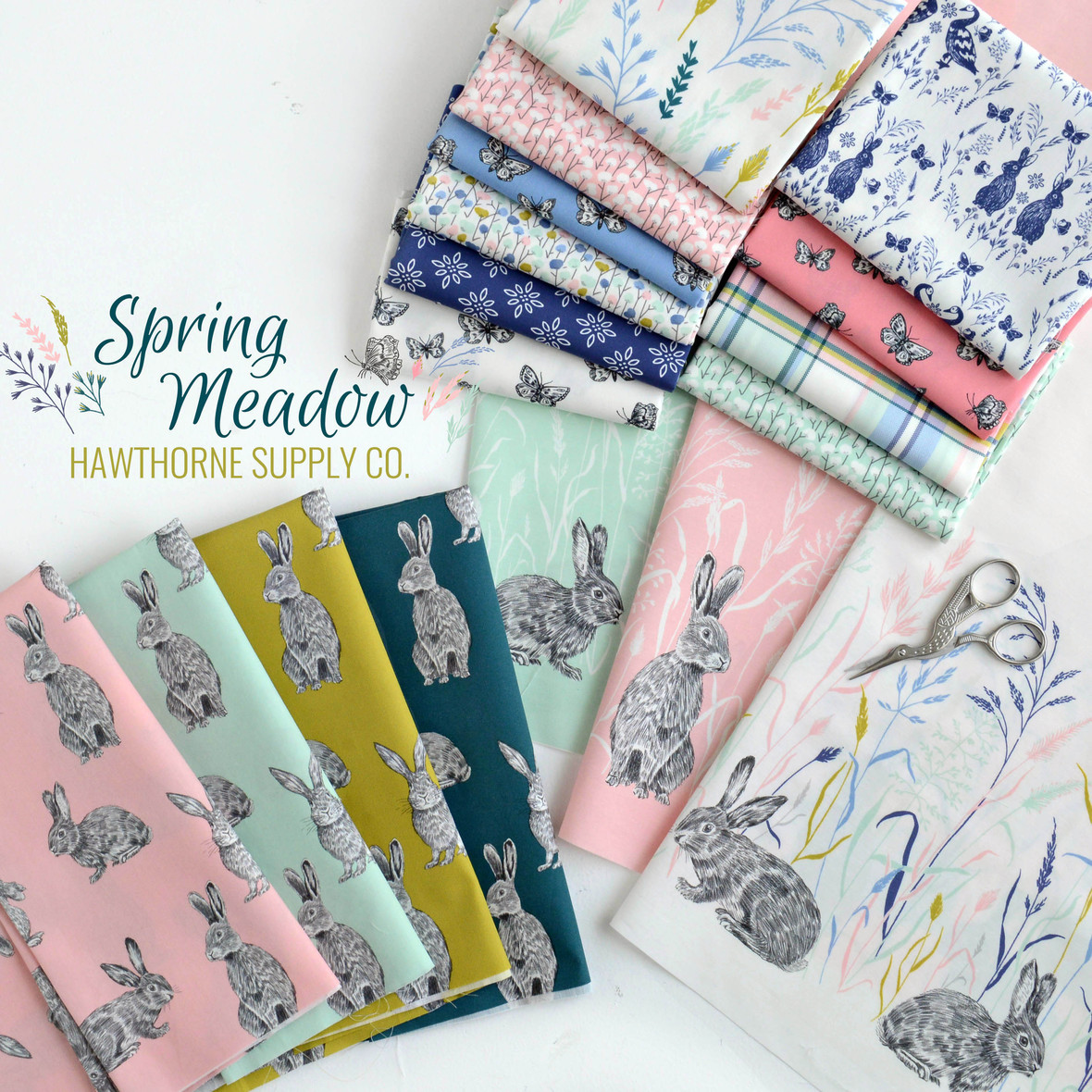 Spring Meadow Fabric Poster Hawthorne Supply Co