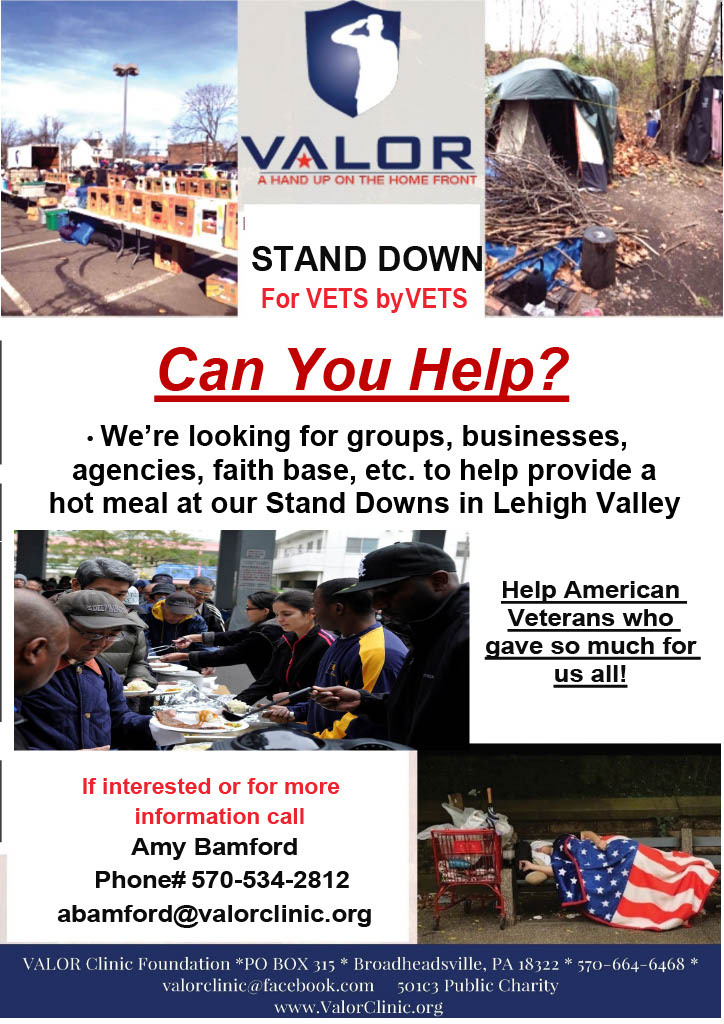 Valor Stand Down - Meal Providers Flyer 1024 1