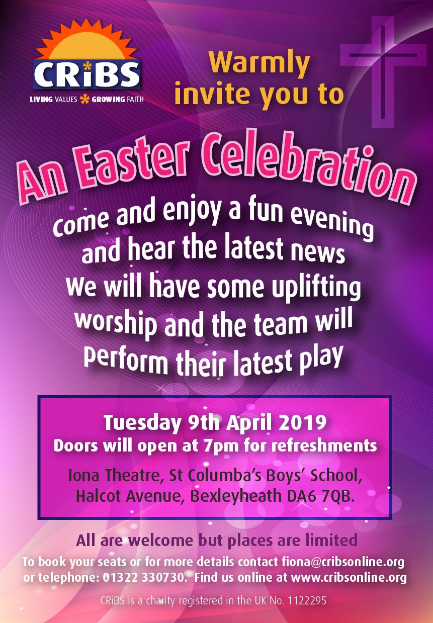 CRiBS Easter Celebration 2019