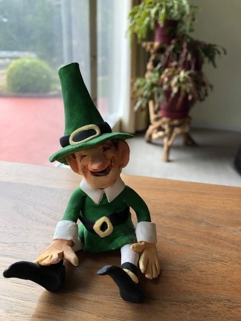 2019-leprechaun statue gift from KATHY BAILEY