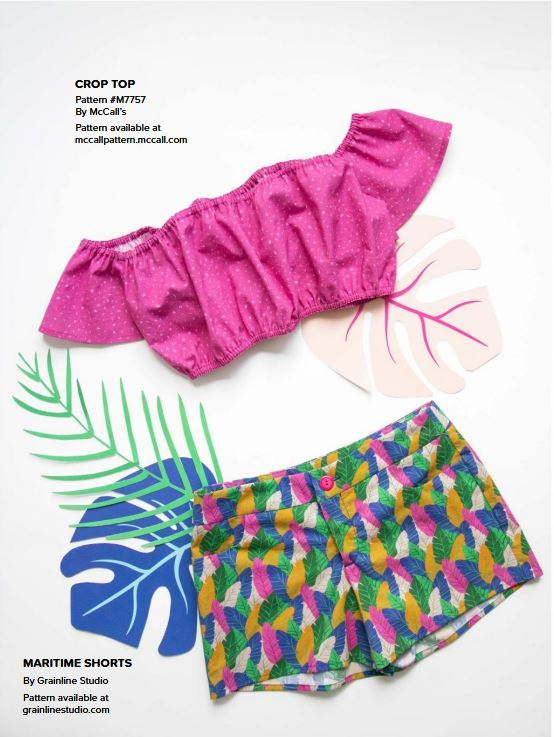 figo look book- 3 - maritime shorts by Grainline