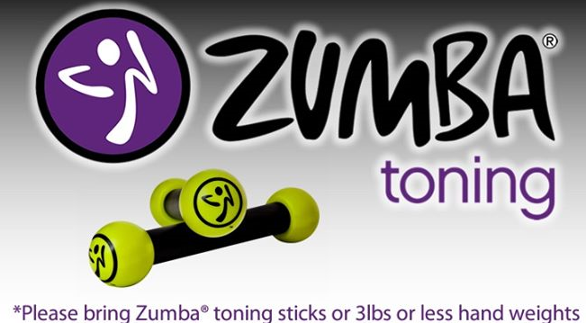 zumba toning with weights