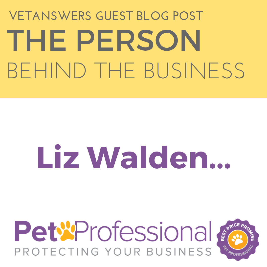 The person behind the business - Professional Pet Insurance
