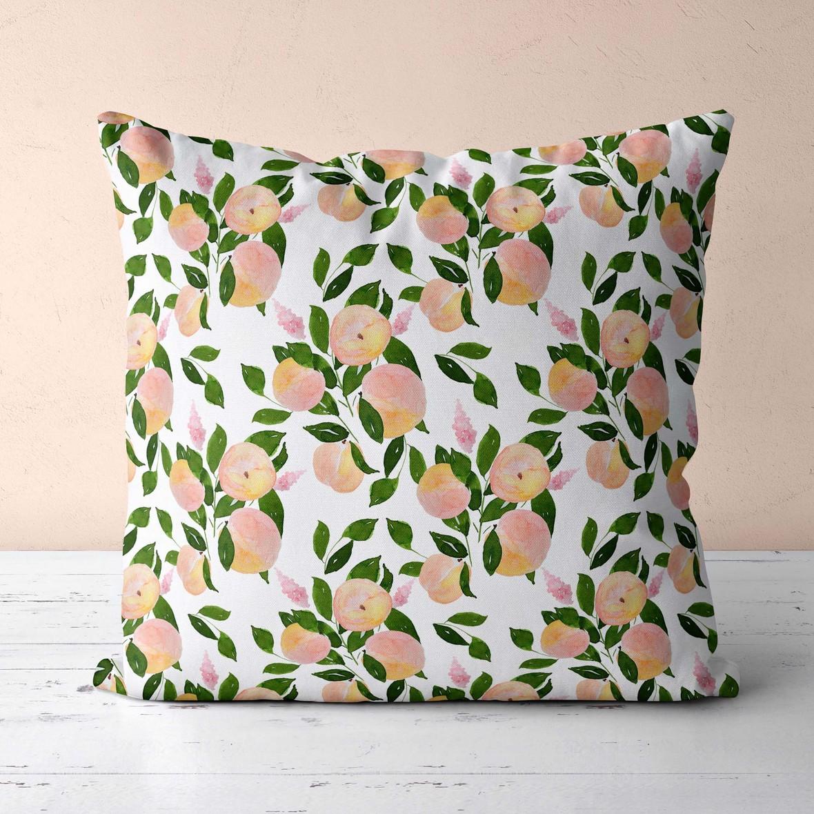 pillow just peachy
