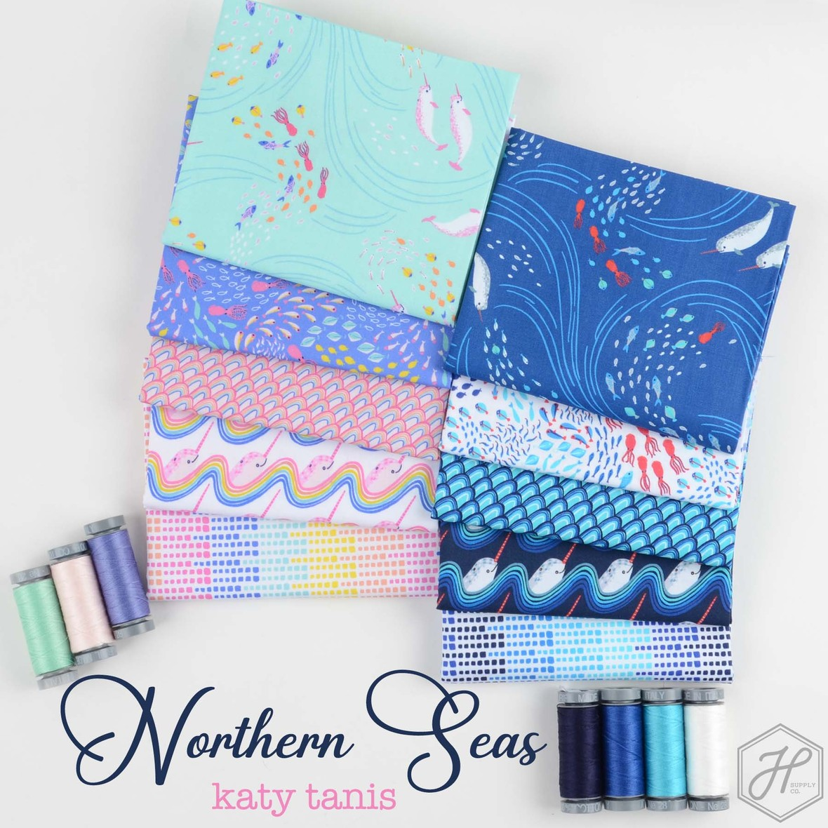 Northern Seas Fabric Poster Blend at Hawthorne Supply Co