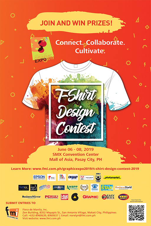 Be the Next Winner of the 24th Graphic Expo T-Shirt Design