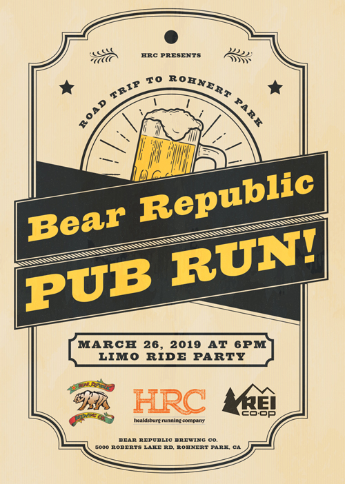 PUB RUN bear