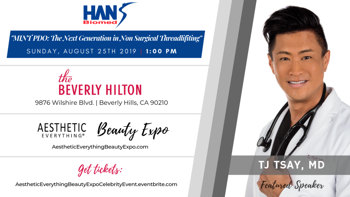 TJ Tsay - Beauty Expo speaker