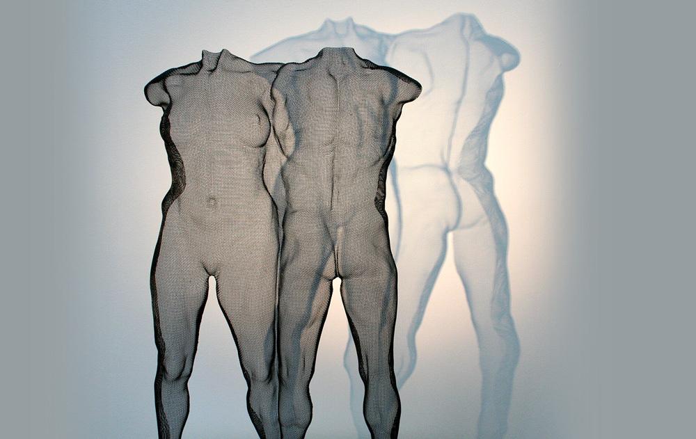 mesh-sculpture-DUO-by-artist-david-begbie