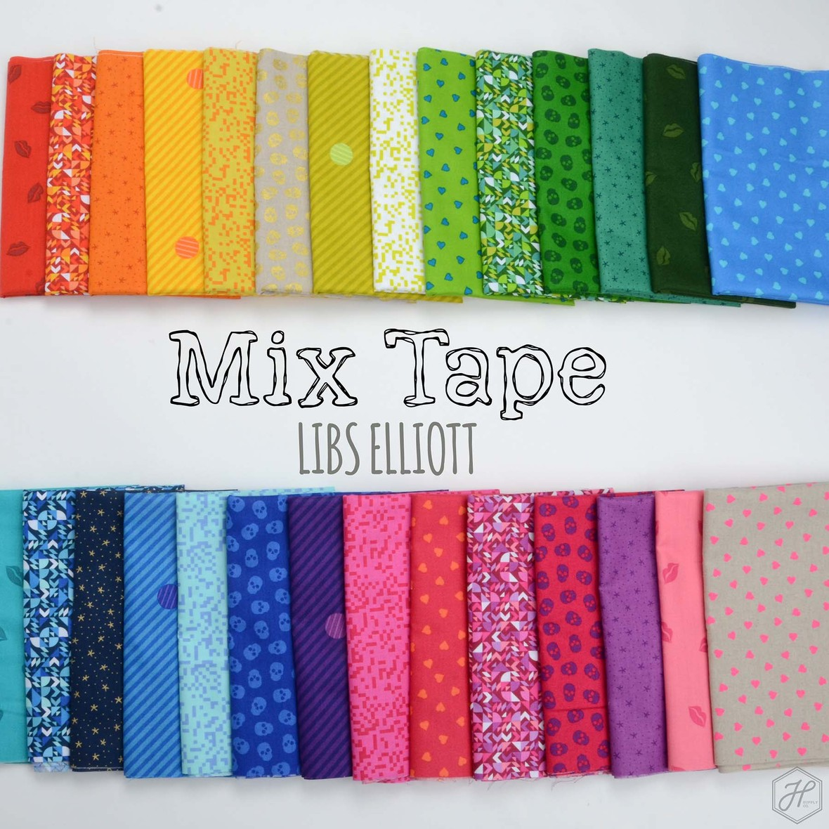Mix Tape Fabric Libs Elliot at Hawthorne Supply Co