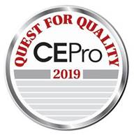 CE Pro Quest for Quality 2019