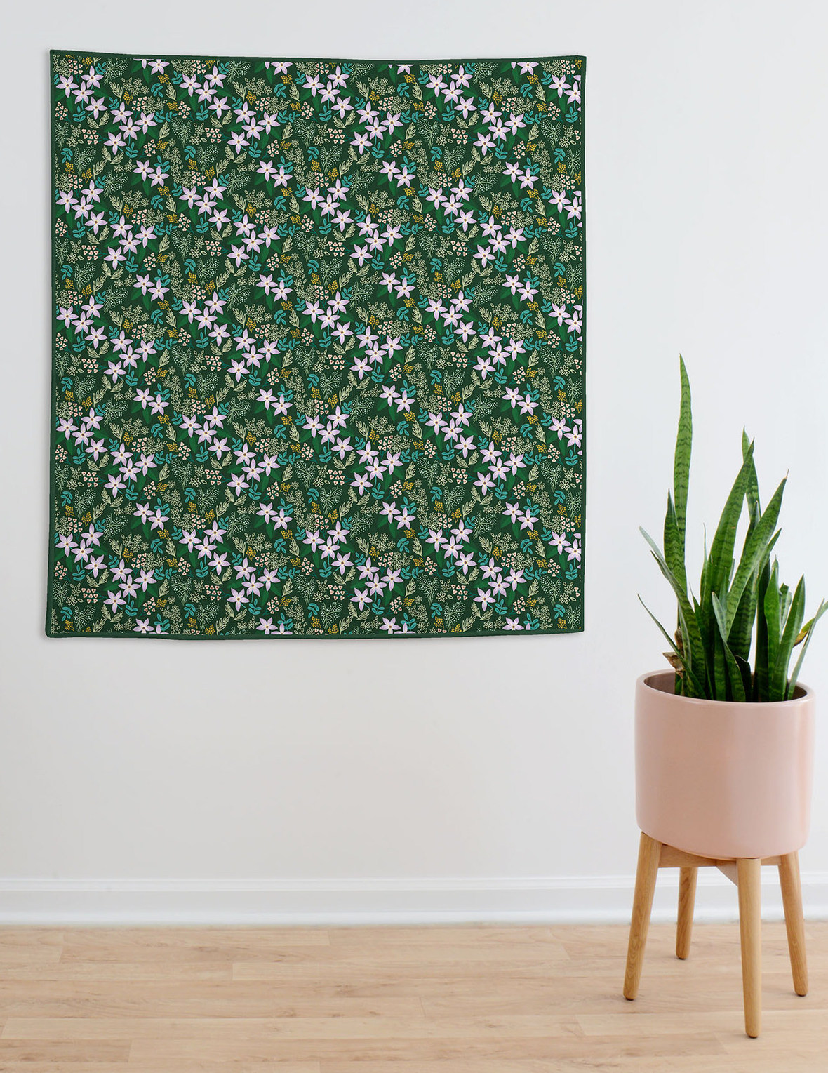 Greenhouse Wholecloth Quilt