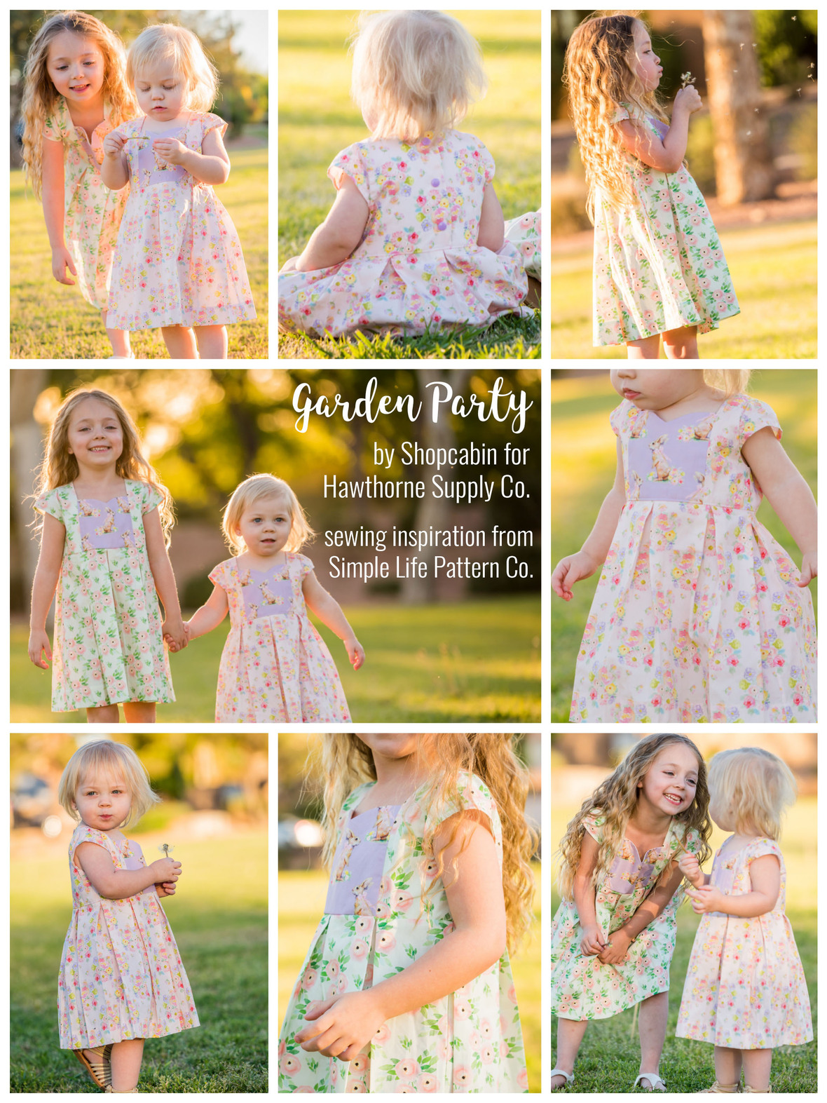 Garden Party Poplin Dresses from Hawthorne Supply Co