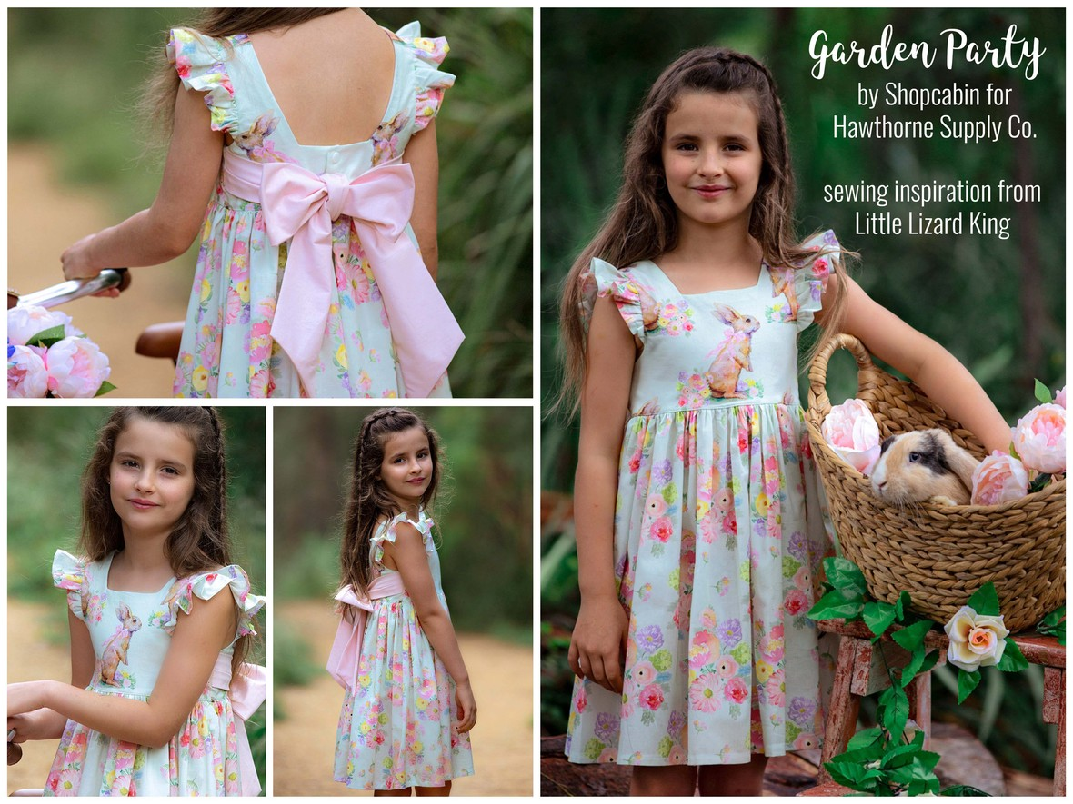 Garden Party Quilting Cotton Dress from Hawthorne Supply Co