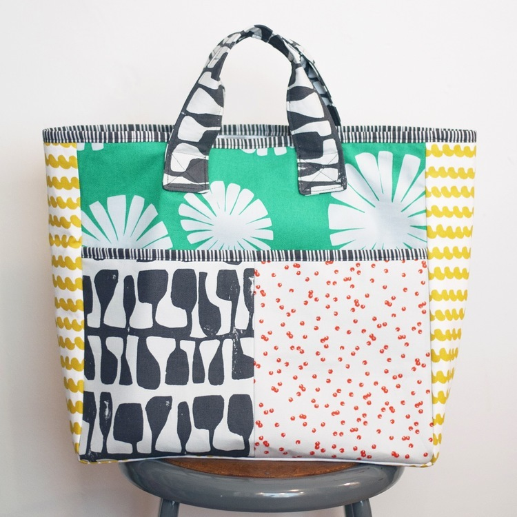 greenbee- box car tote