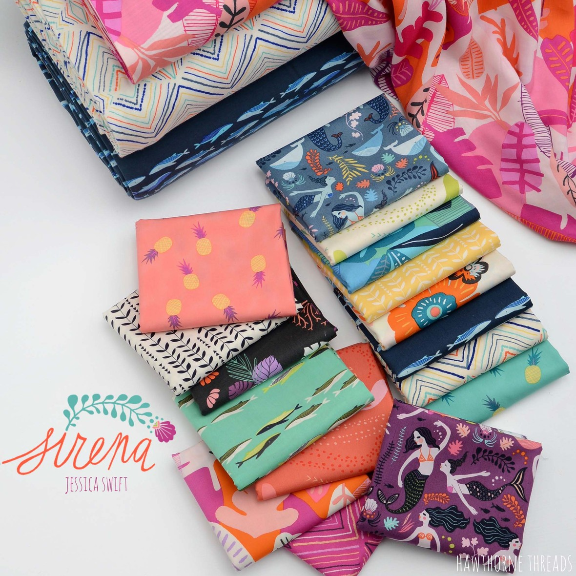 Sirena Fabric Poster 4