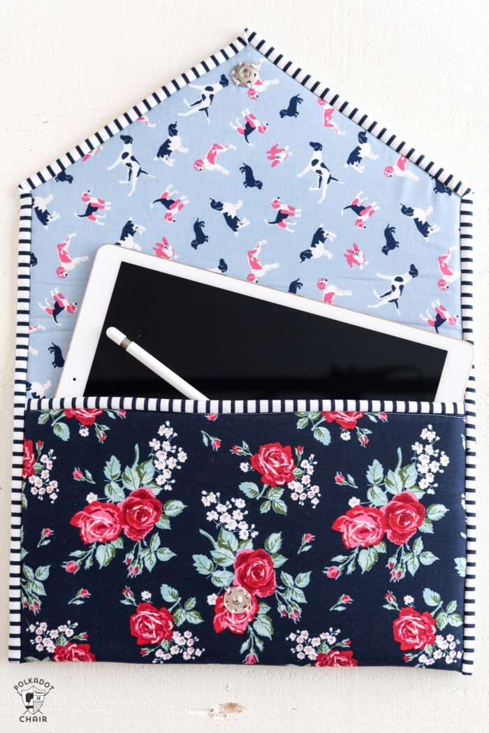 polka dot chair- busy-day-tablet-case-cover2