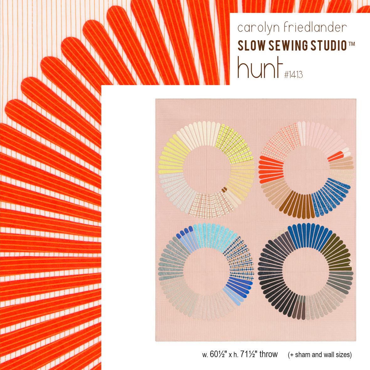 1413 Hunt front cover Carolyn Friedlande print