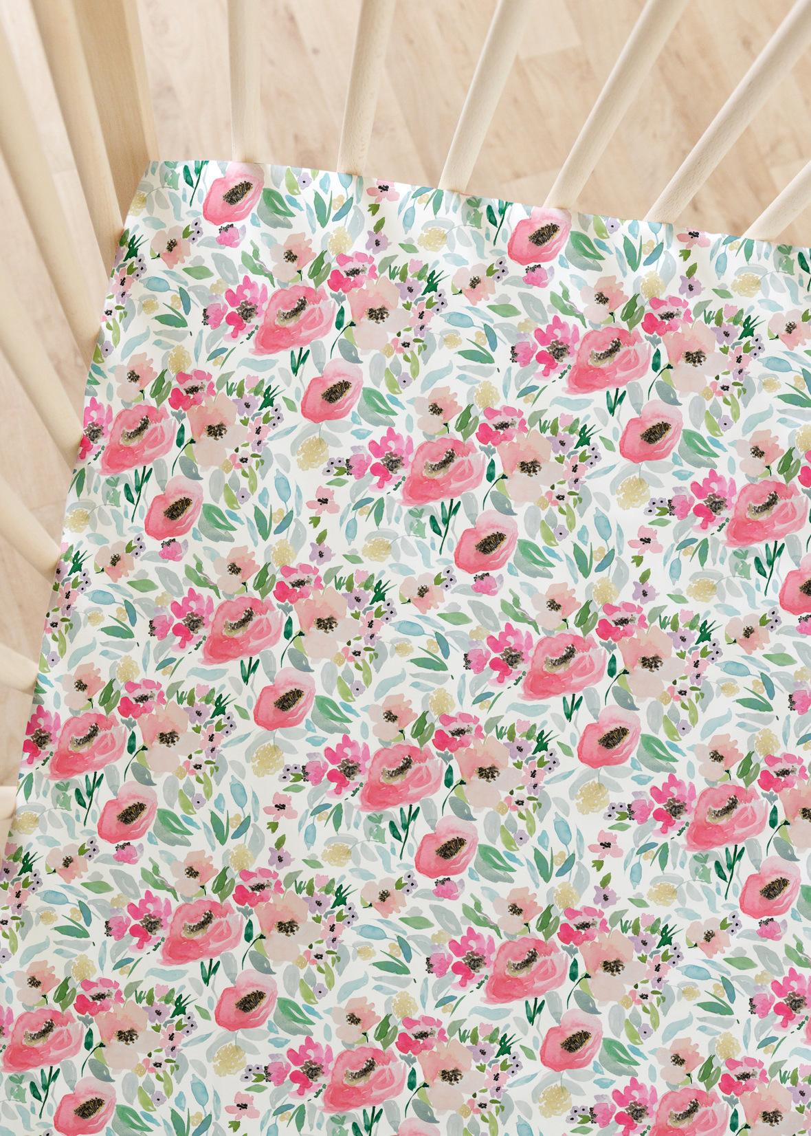 Crib Sheet big always spring daybreak