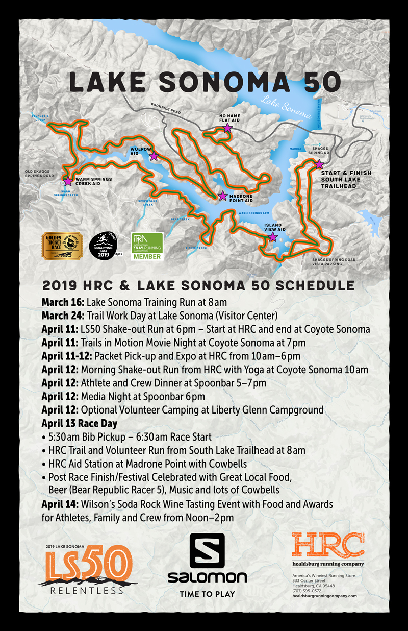 LS50 hrc schedule map 2019