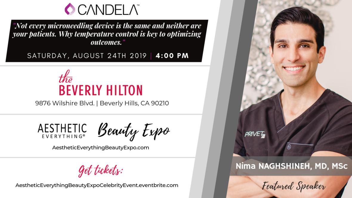 Nima Naghshineh - Beauty Expo speaker