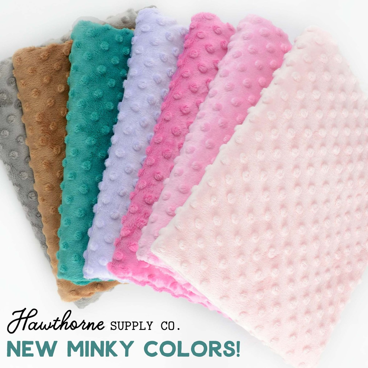 New Minky 2019 colors