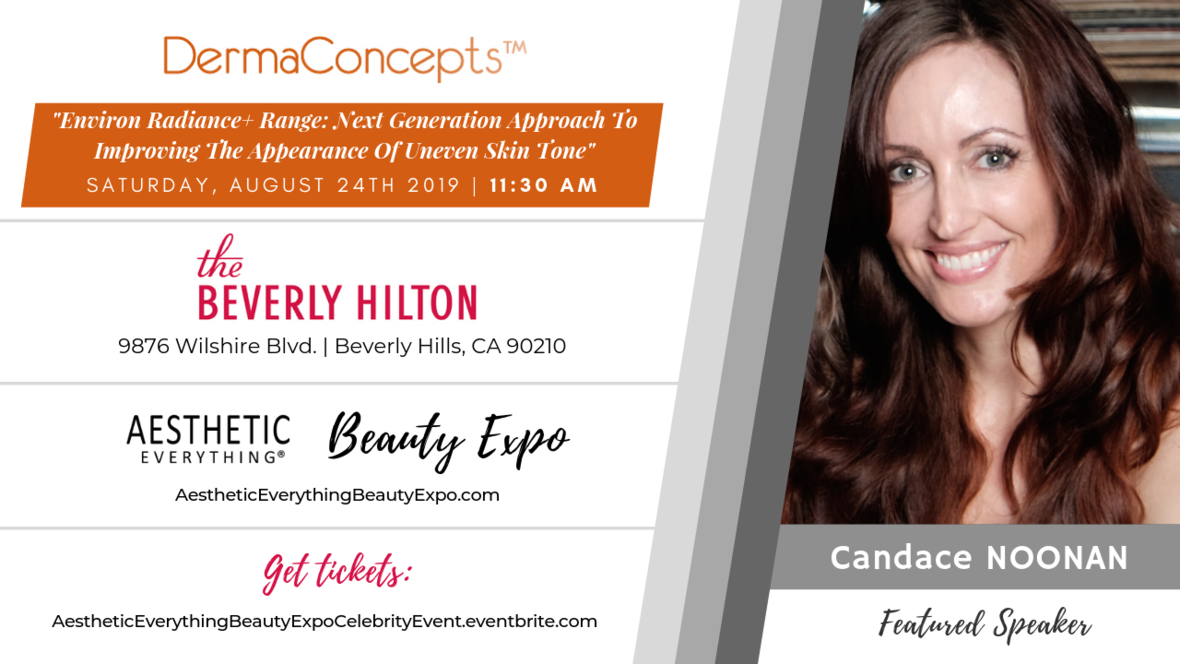 Candace Noonan - Beauty Expo speaker design