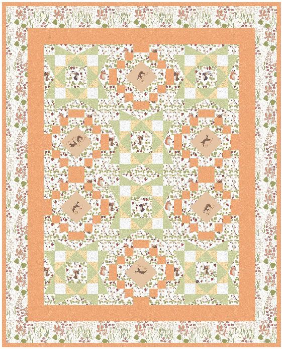 Dear stella- pattern available from boundtobequilting