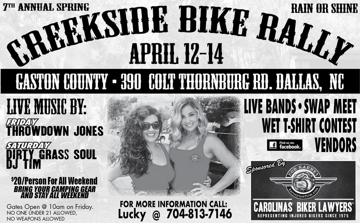 BIG WEEKEND - Let's Ride! Cruisin' Calendar - April 12-14, 2019