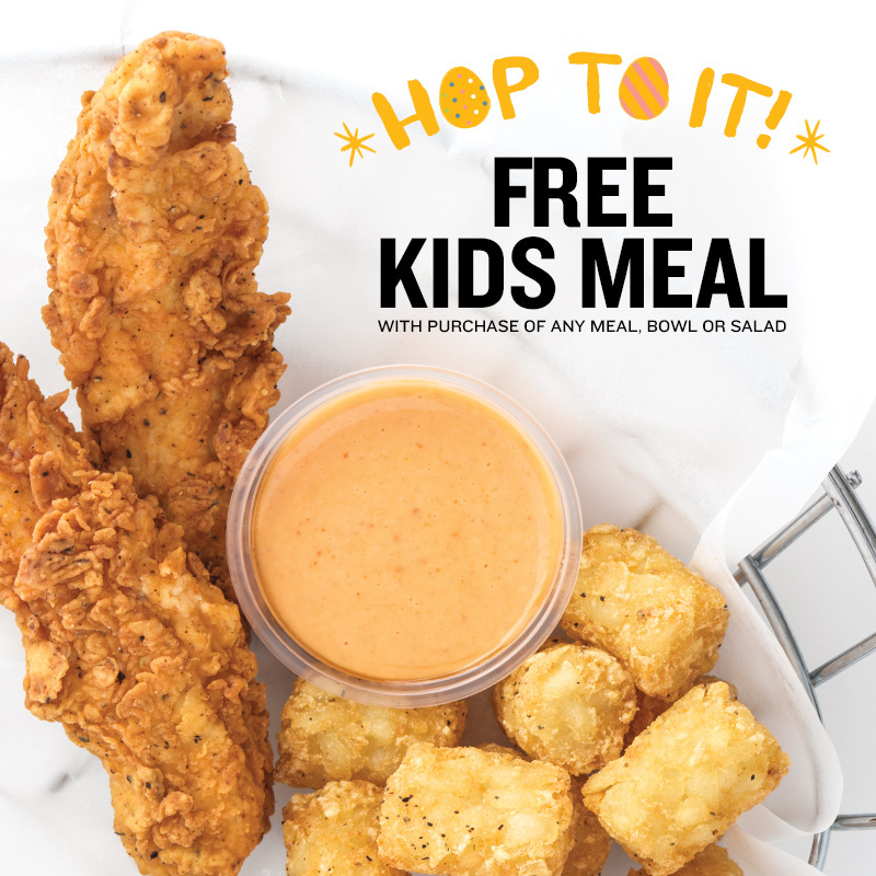 PDQ Easter Promotion