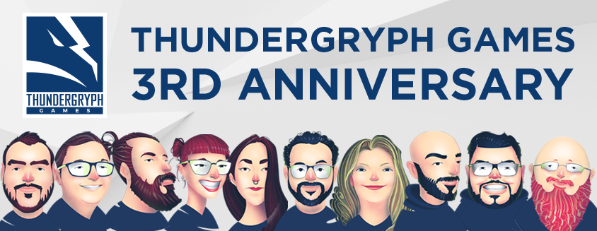 thundergryph games 3rd anniversary