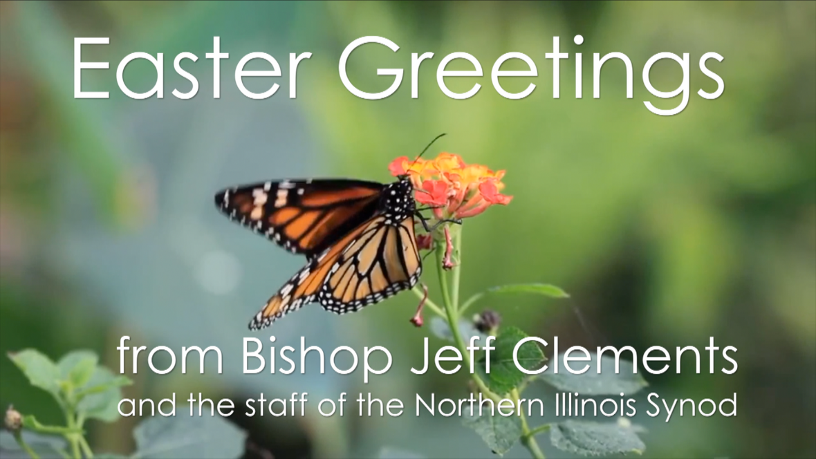 Easter message from bishop
