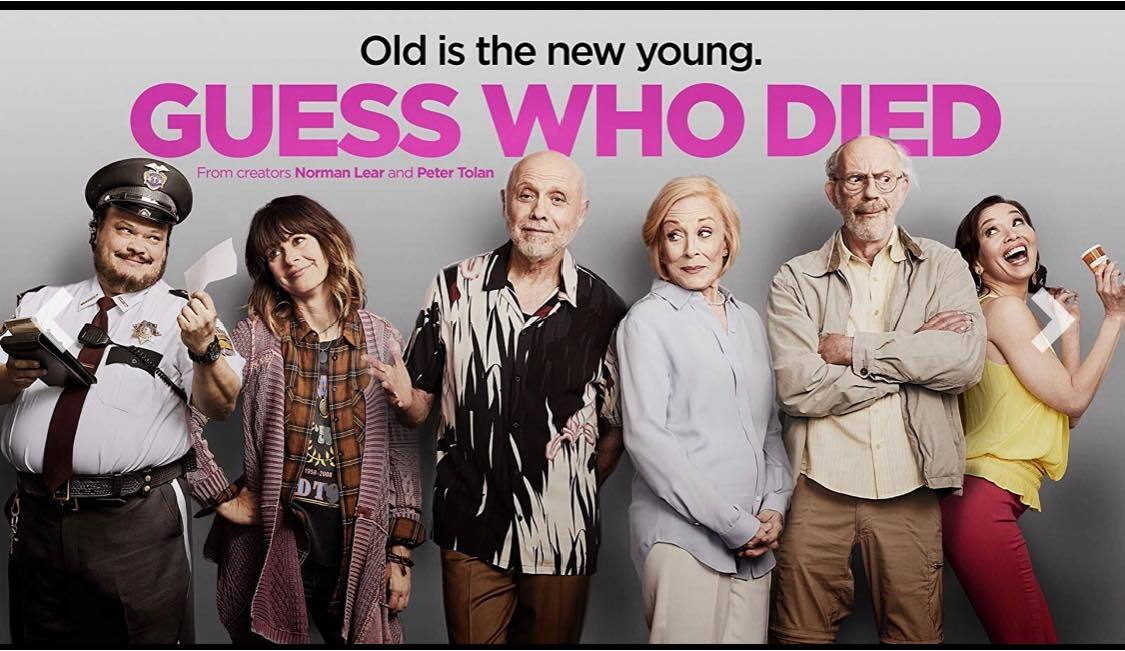 Guess Who Died Poster