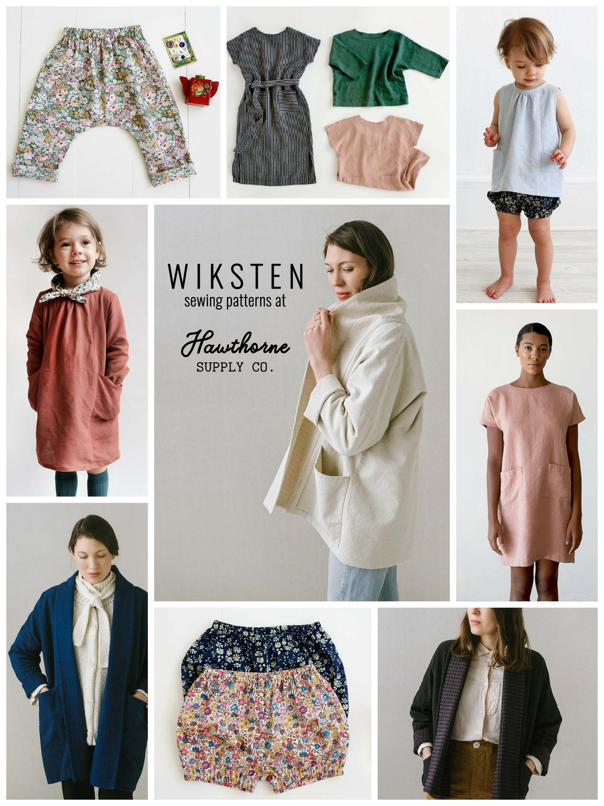 Wiksten Sewing Patterns at Hawthorne Supply Co