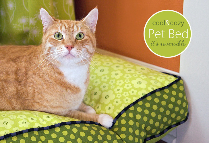 sew4home-pet bed sewing tutorial