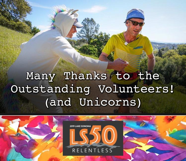 LS50 thank volunteers