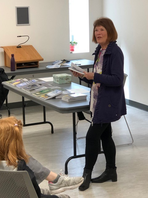 2019-04-13 Powell River library book launch