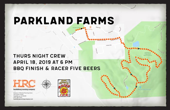 parkland farms crew map