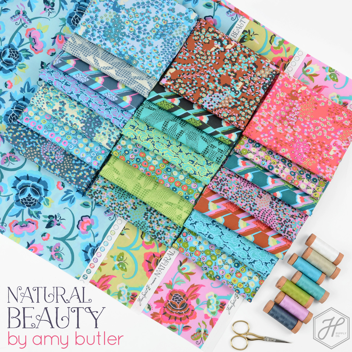 Natural Beauty fabric poster Amy Butler at Hawthorne Supply Co