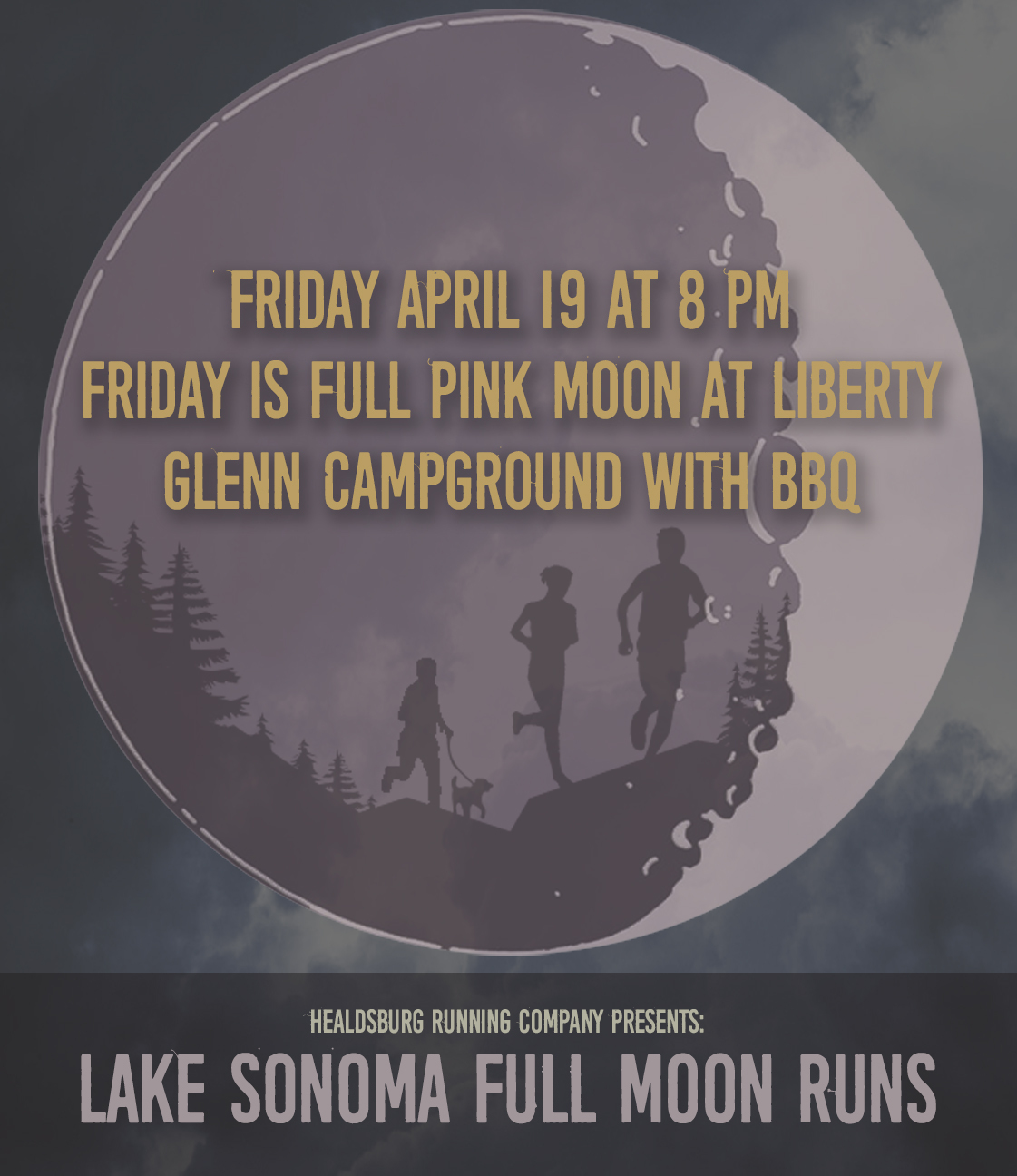 full pink moon template