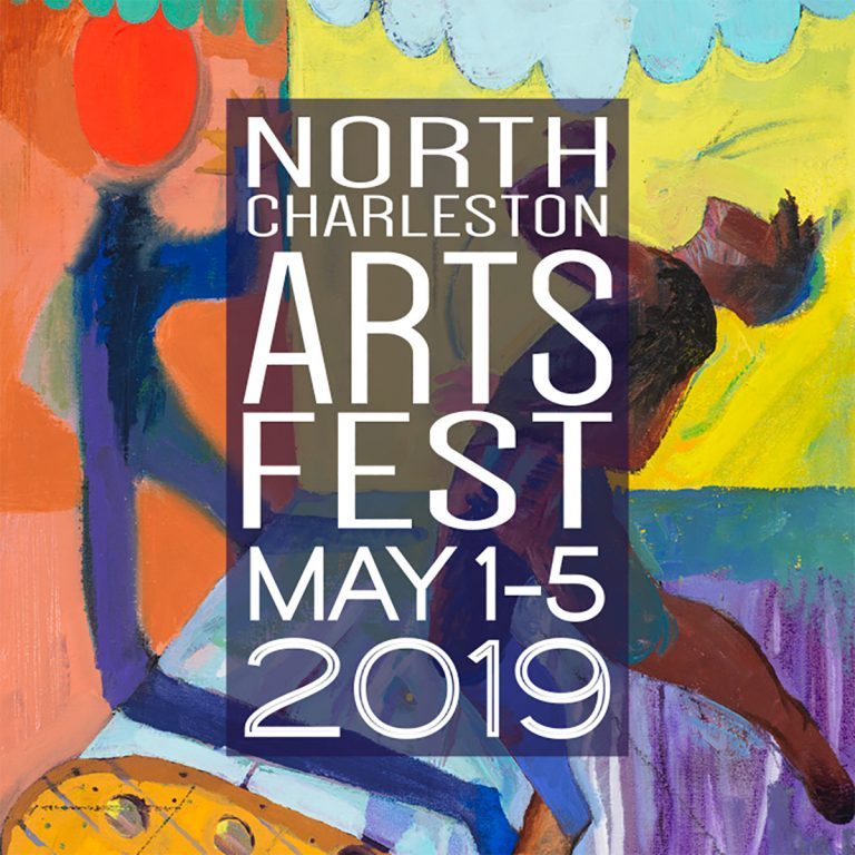 North Charleston Art Fest logo 2019