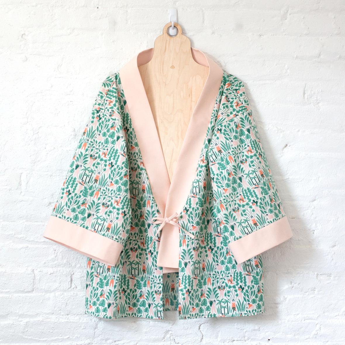 cloud9 - clara kimono jacket by sew retro