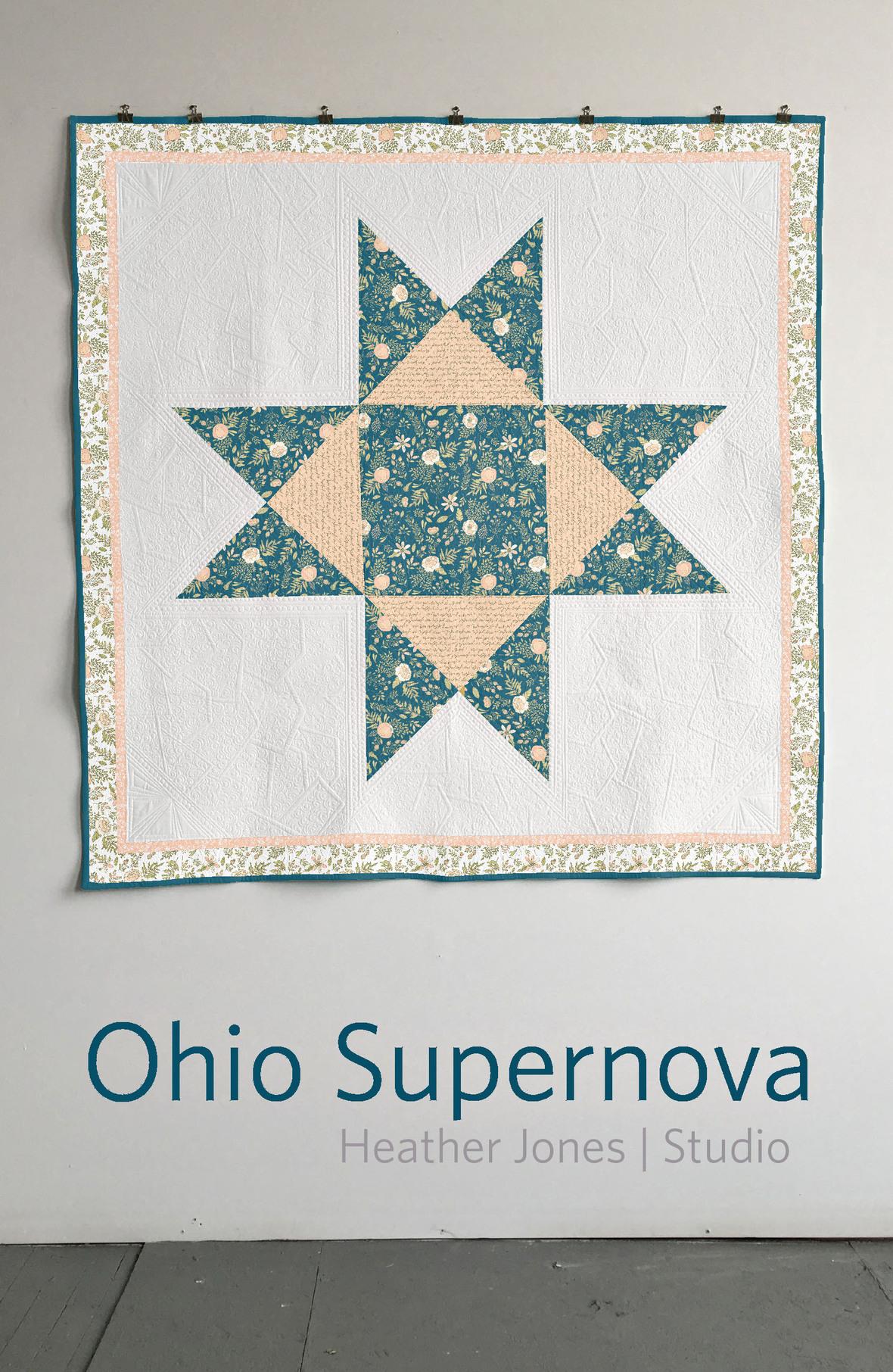 Heather Jones Quilt Ohio Supernova